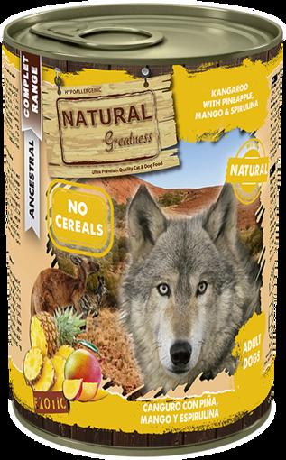 Imagem de NATURAL GREATNESS | Kangaroo & Pineapple with Mango & Spirulina 400 g