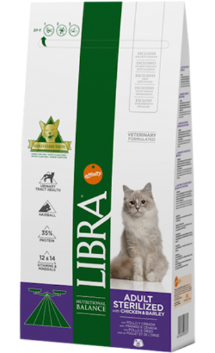 Imagem de LIBRA Cat | Sterilized Chicken & Barley