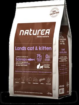 Imagem de NATUREA Grain Free | Lands Cat & Kitten