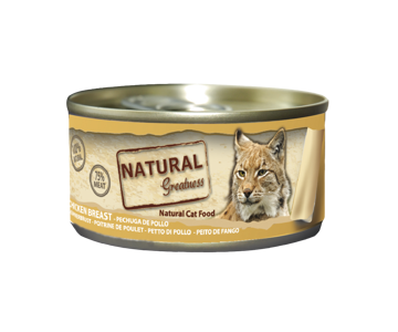Imagem de NATURAL GREATNESS | Wetfood Cat Chicken Breast 70 g