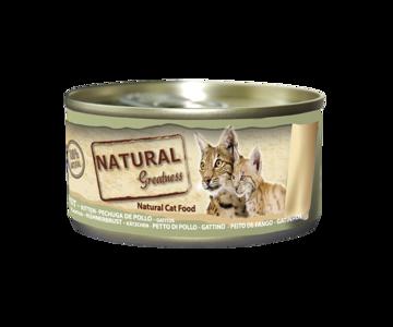 Imagem de NATURAL GREATNESS | Wetfood Cat Chicken Breast - Cat & Kitten 70 g
