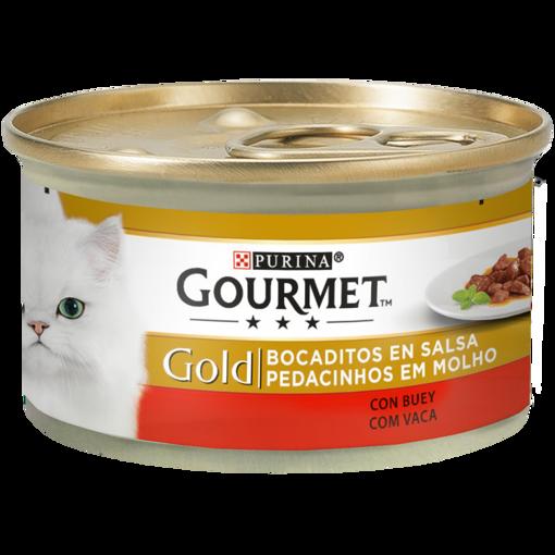 Imagem de GOURMET GOLD   Pedacinhos em Molho Carne de Vaca