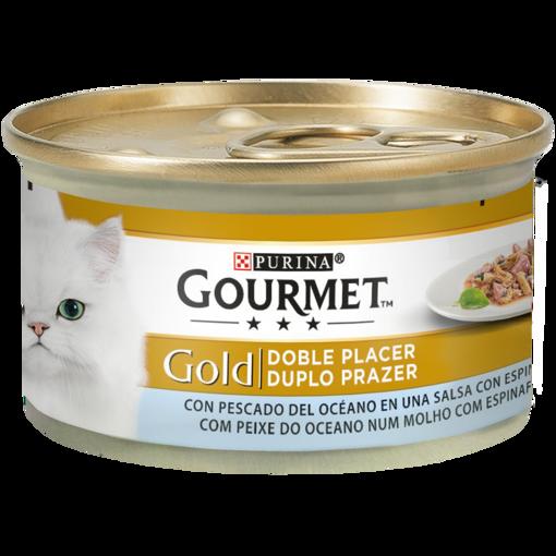 Imagem de GOURMET GOLD | Duplo Prazer Peixe do Oceano com molho de espinafres