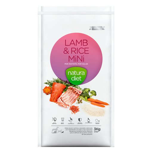 Imagem de NATURA DIET | Lamb & Rice Mini