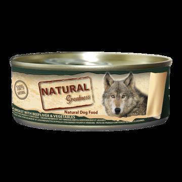Imagem de NATURAL GREATNESS | Chicken, Liver & Vegetables 156 g