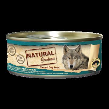 Imagem de NATURAL GREATNESS | Tuna Filet, Sardine & Pumpkin 156 g