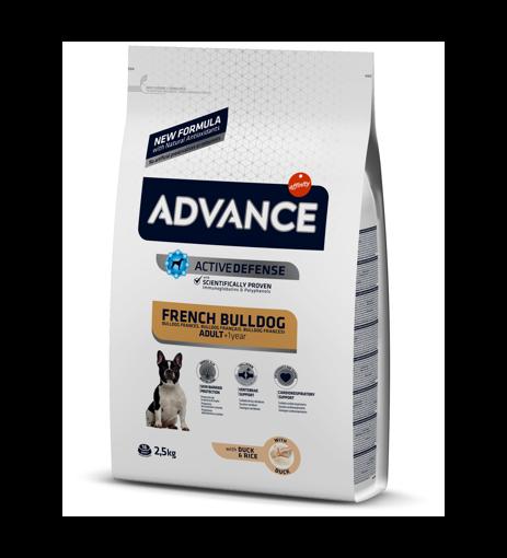 Imagem de ADVANCE Dog   French Bulldog Duck & Rice