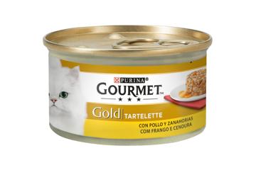 Imagem de GOURMET GOLD | Tartelette Frango e Cenouras