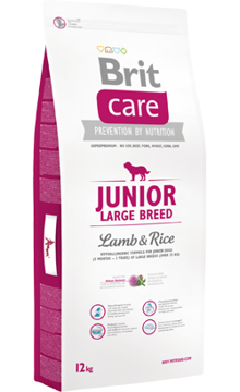 Brit Care Dog Junior Large Breed | Lamb & Rice