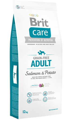 Brit Care Grain-free Dog Adult | Salmon & Potato