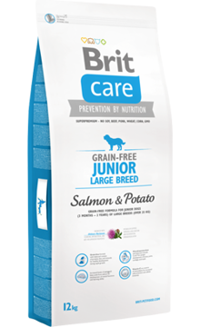 Brit Care Grain-free Dog Junior Large Breed | Salmon & Potato