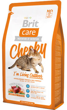 Brit Care Cat Cheeky Outdoor | High Venison