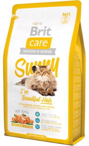 Brit Care Cat Sunny Hair & Skin | High Salmon