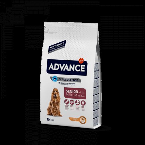 Imagem de ADVANCE Dog   Medium Senior Chicken & Rice
