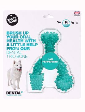 TASTYBONE Dental Trio Bone Peppermint