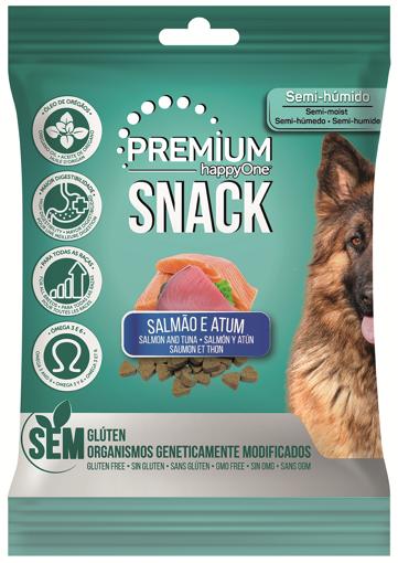 happyOne Premium Snack Salmão e Atum 100g