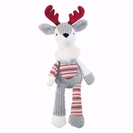 Imagem de ROSEWOOD | Luxury Silver Plush Reindeer