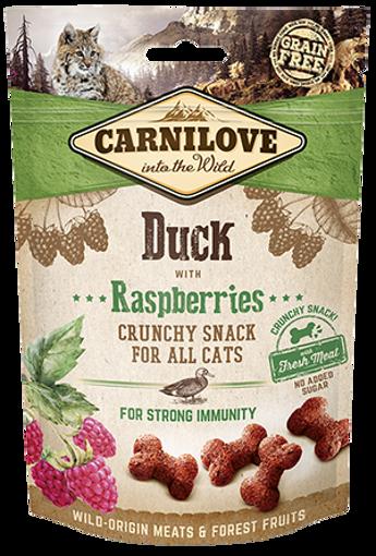 Imagem de CARNILOVE Cat | Crunchy Snack Duck & Raspberries 50 g