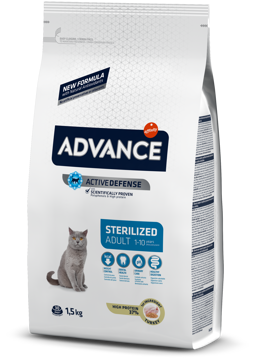 Imagem de ADVANCE Cat | Adult Sterilised Turkey & Barley