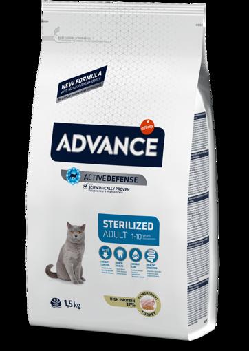 Imagem de ADVANCE Cat | Adult Sterilised Turkey & Barley