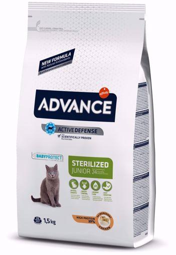 Imagem de ADVANCE Cat | Junior Sterilised Chicken & Rice 1,5 kg