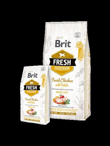 Imagem de BRIT Fresh | Chicken With Potato Adult Great Life