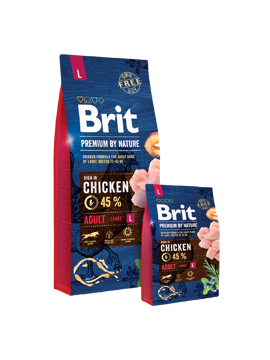 Imagem de BRIT Premium by Nature | Dog Adult L