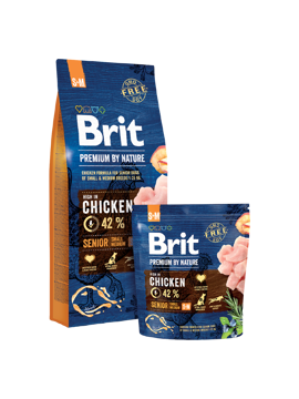 Imagem de BRIT Premium by Nature | Dog Senior S+M
