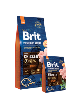 Imagem de BRIT Premium by Nature   Dog Sport 15 kg