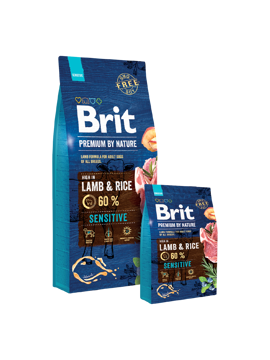 Imagem de BRIT Premium by Nature | Dog Sensitive Lamb