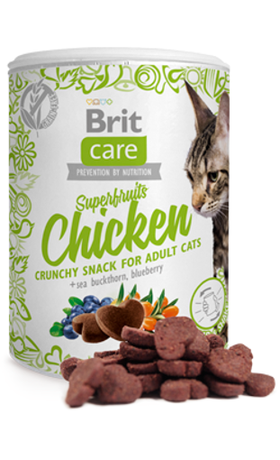 Imagem de BRIT Care | Cat Snack Superfruits Chicken 100 g