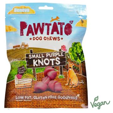 Imagem de BENEVO | Snack Pawtato Knots Roxo S