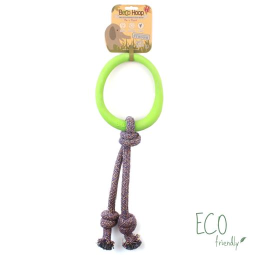 Imagem de BECO PETS   Beco Hoop On a Rope L