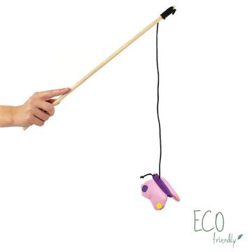 Imagem de BECO PETS | Catnip Wand Butterfly Toy