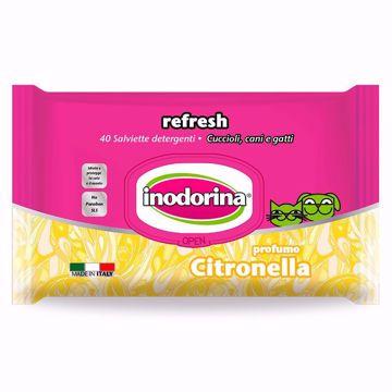 Imagem de INODORINA | Toalhetes Refresh Citronella, 40 Toalhetes