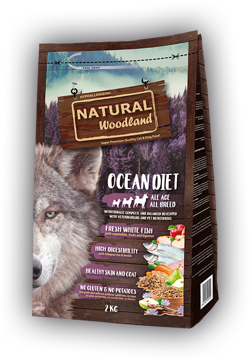 Natural Woodland Oceandiet 2 kg