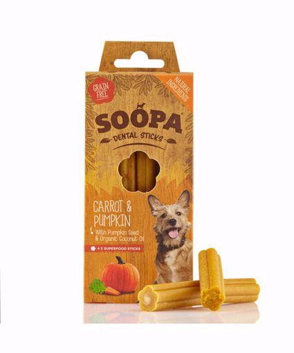 Imagem de SOOPA | Palitos Dentais Cenoura & Abóbora 100 g