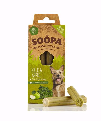 Imagem de SOOPA | Palitos Dentais Couve & Maçã 100 g