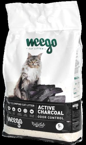 Imagem de WEEGO   Active Charcoal Areia para gato