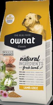 Imagem de OWNAT Cão | Classic Lamb & Rice