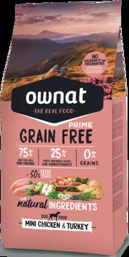 Imagem de OWNAT Cão | Prime Grain Free Mini Chicken & Turkey
