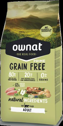 Imagem de OWNAT Gato   Prime Grain Free Adult
