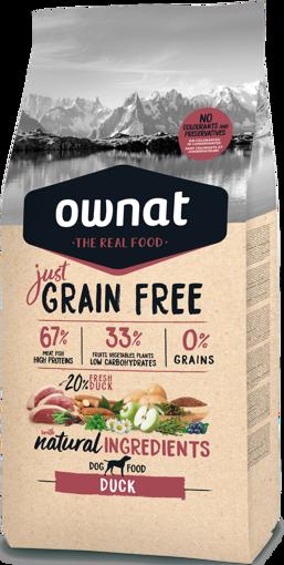 Imagem de OWNAT Cão   Just Grain Free Duck