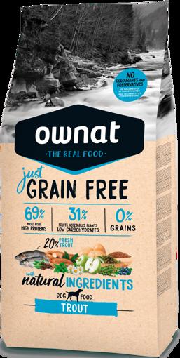 Imagem de OWNAT Cão   Just Grain Free Trout