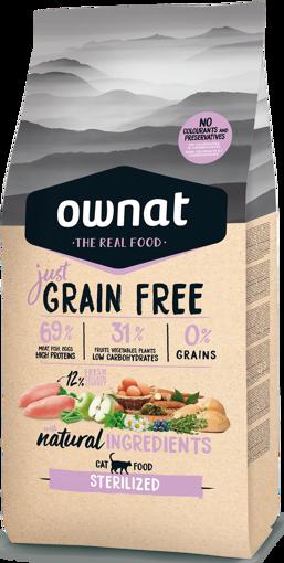 Imagem de OWNAT Gato   Just Grain Free Sterilized