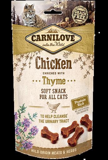 Imagem de CARNILOVE Cat | Soft Snack Chicken & Thyme 50 g