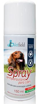 vetfield spray parasitário
