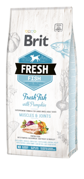 Imagem de BRIT Fresh | Fish With Pumpkin Adult Large Muscles & Joints 12 kg