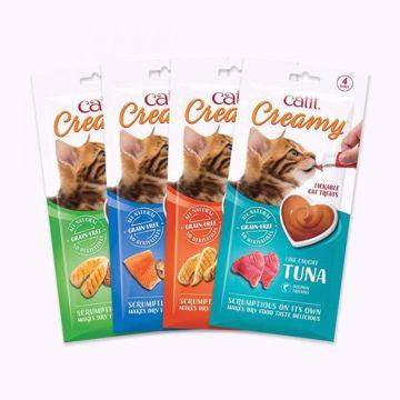 Imagem de CATIT | Creamy Snack Líquido para Gato (4 Un)