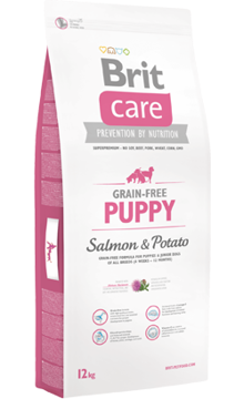 Imagem de BRIT Care | Dog Grain-free Puppy Salmon & Potato 12kg